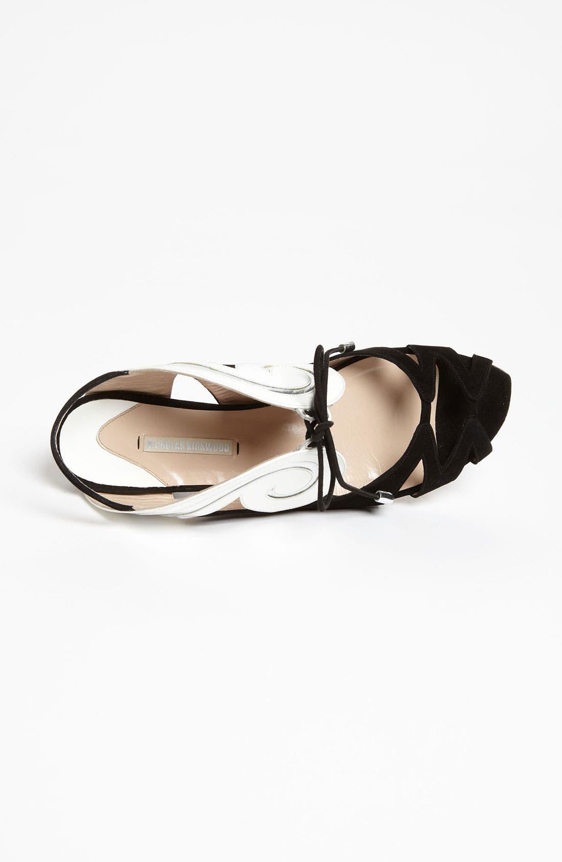 Alternate Image 3  - Nicholas Kirkwood 'Swirl' Flat Sandal