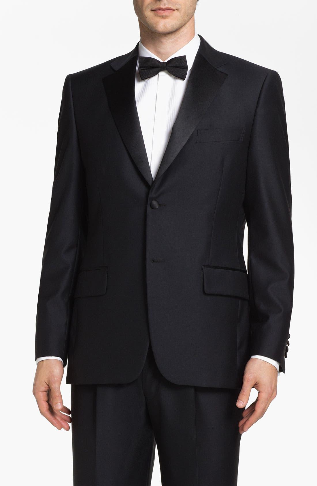 Alternate Image 1 Selected - John W. Nordstrom® Signature Wool Dinner Jacket