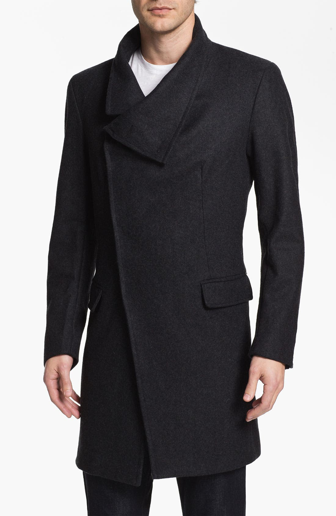 Alternate Image 1 Selected - Antony Morato Wool Blend Long Coat