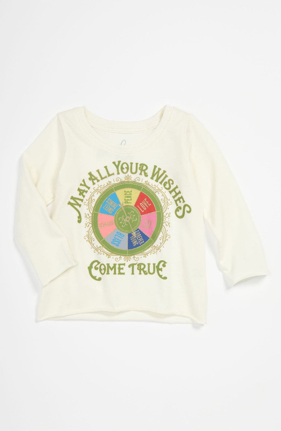Alternate Image 1 Selected - Peek 'Wishing Wheel' Tee (Infant)