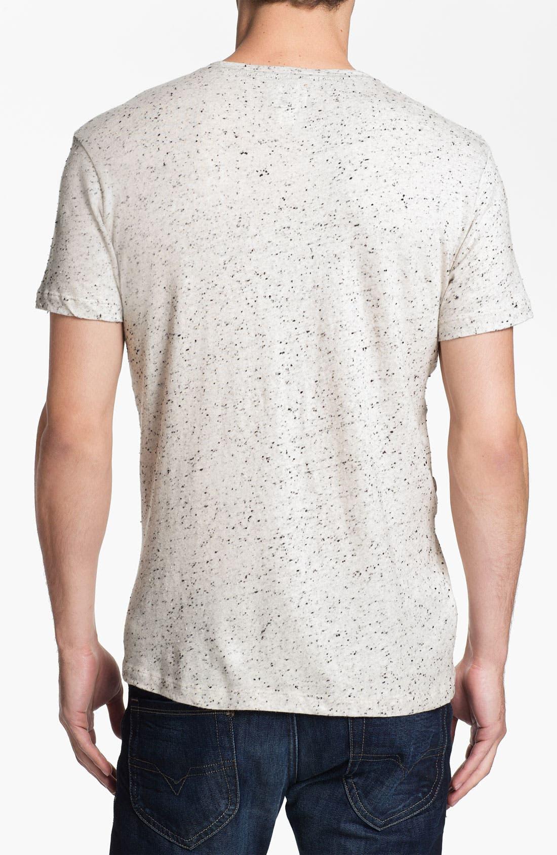 Alternate Image 2  - DIESEL® 'Tropex' Henley T-Shirt