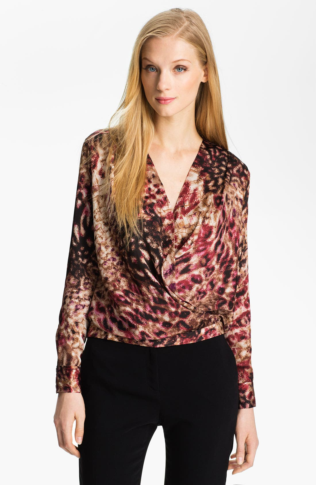 Alternate Image 1 Selected - Anne Klein 'Stepping Stone' Blouse (Petite)