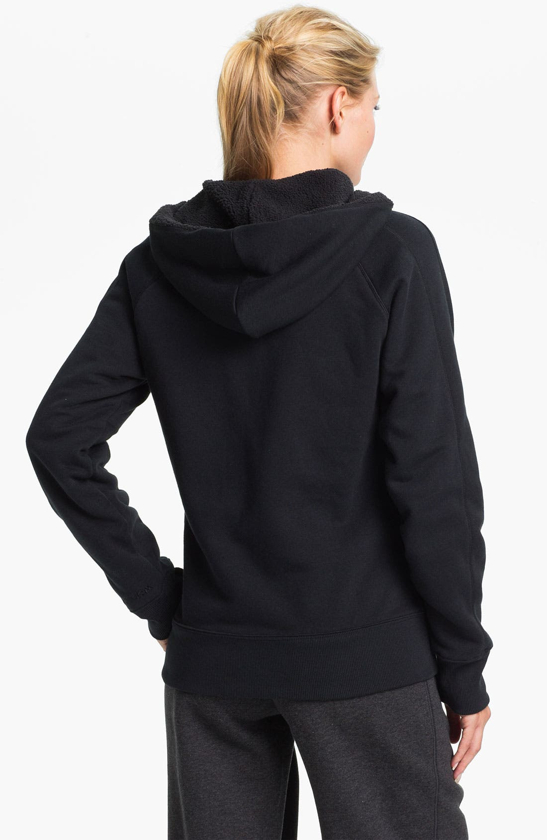 Alternate Image 2  - Under Armour Charged Cotton Storm Hoodie