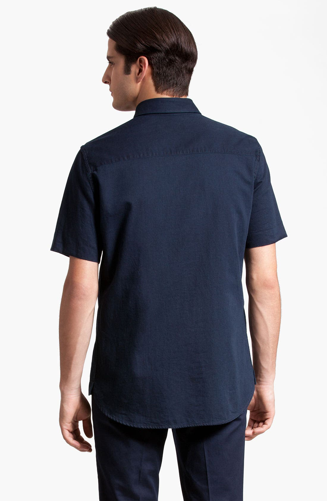 Alternate Image 2  - Marni Short Sleeve Denim Shirt