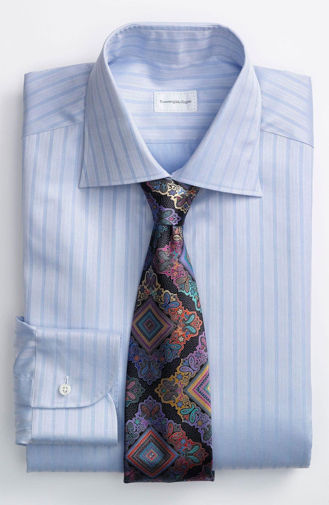 Alternate Image 2  - Ermenegildo Zegna Regular Fit Dress Shirt