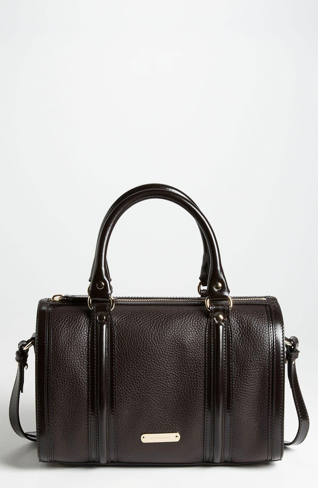 Alternate Image 1 Selected - Burberry 'London Grainy' Leather Satchel, Medium
