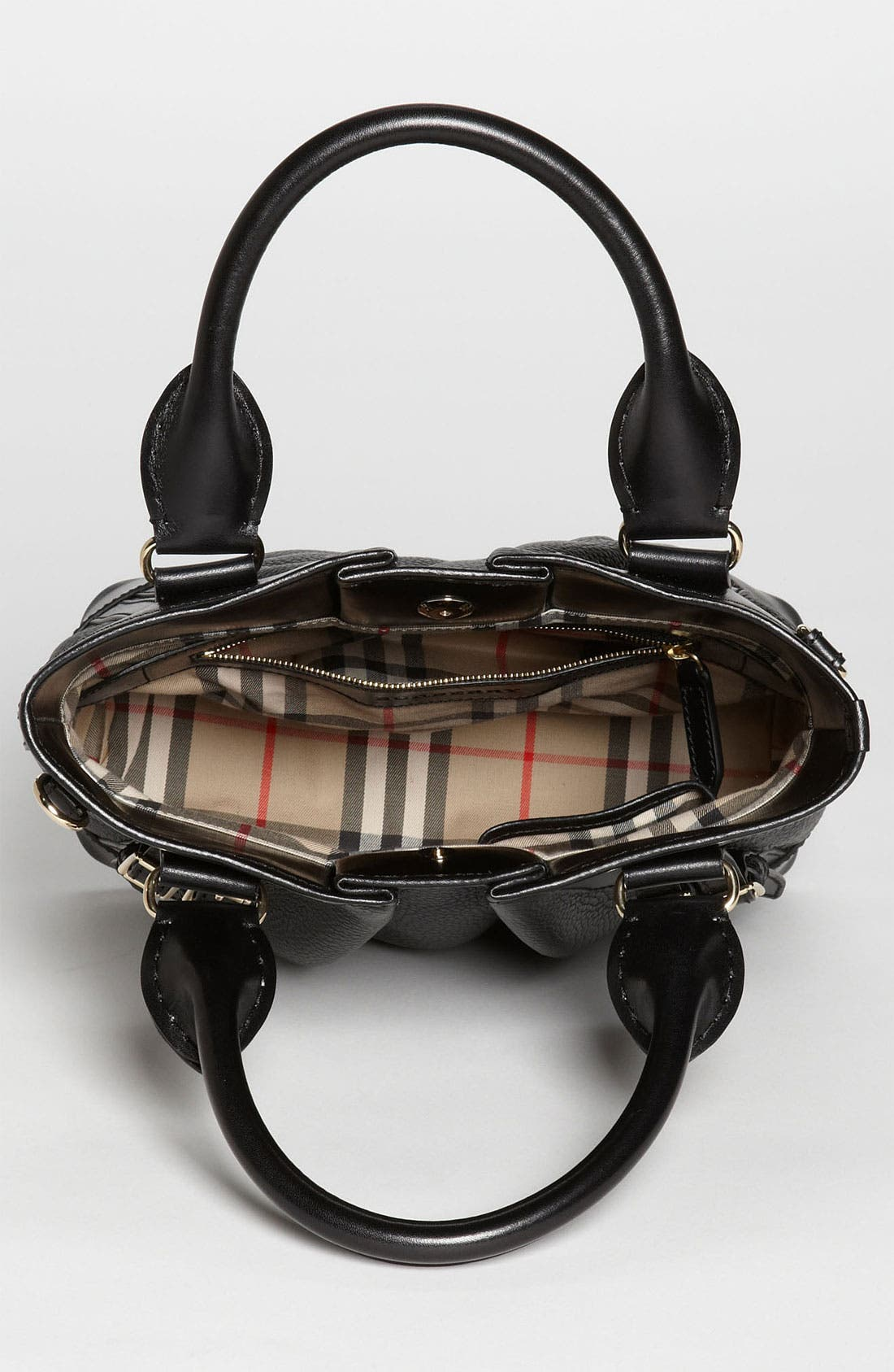 Alternate Image 3  - Burberry 'London Grainy' Leather Tote