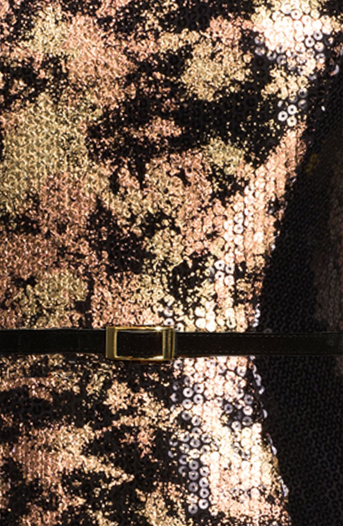 Alternate Image 3  - Jessica Simpson Strapless Sequin Sheath Dress