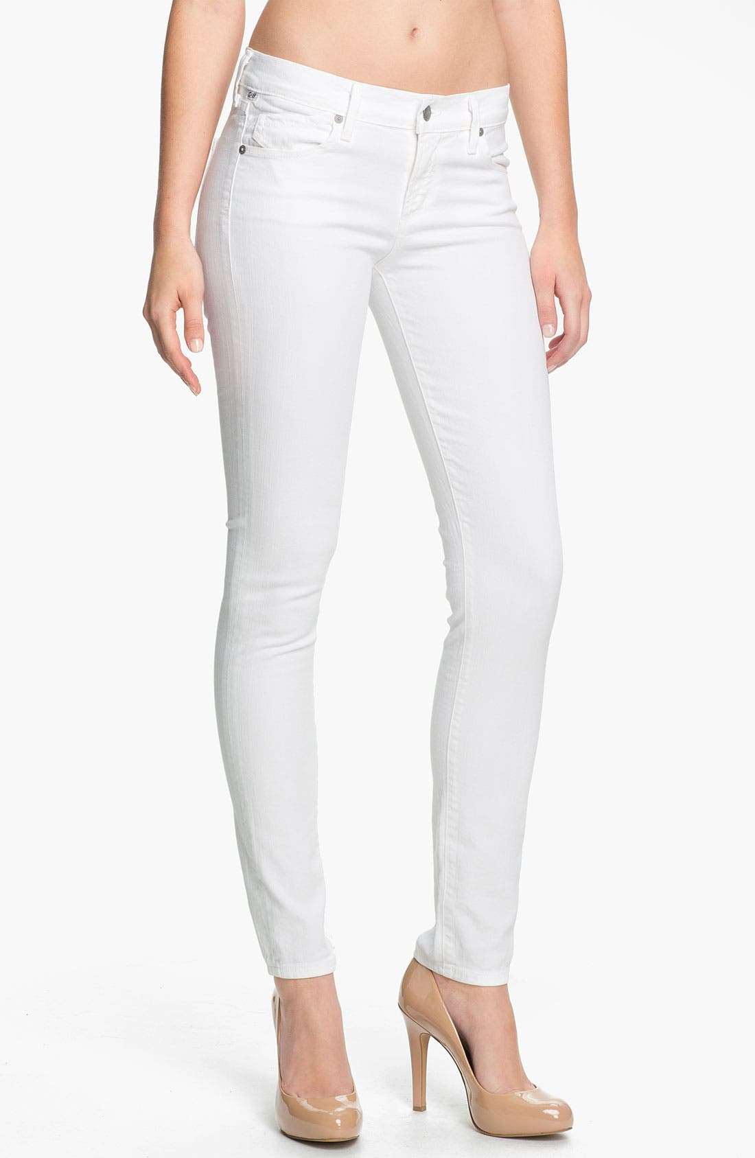 Alternate Image 1 Selected - Citizens of Humanity Skinny Stretch Jeans (Santorini)