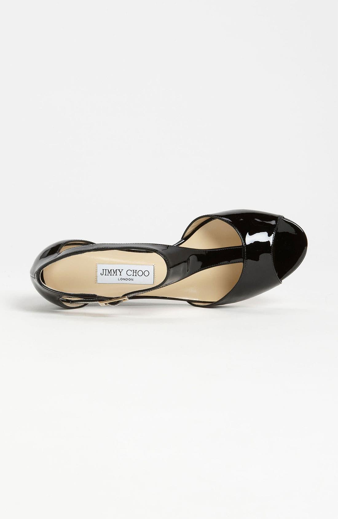 Alternate Image 3  - Jimmy Choo 'Treat' T-Strap Sandal