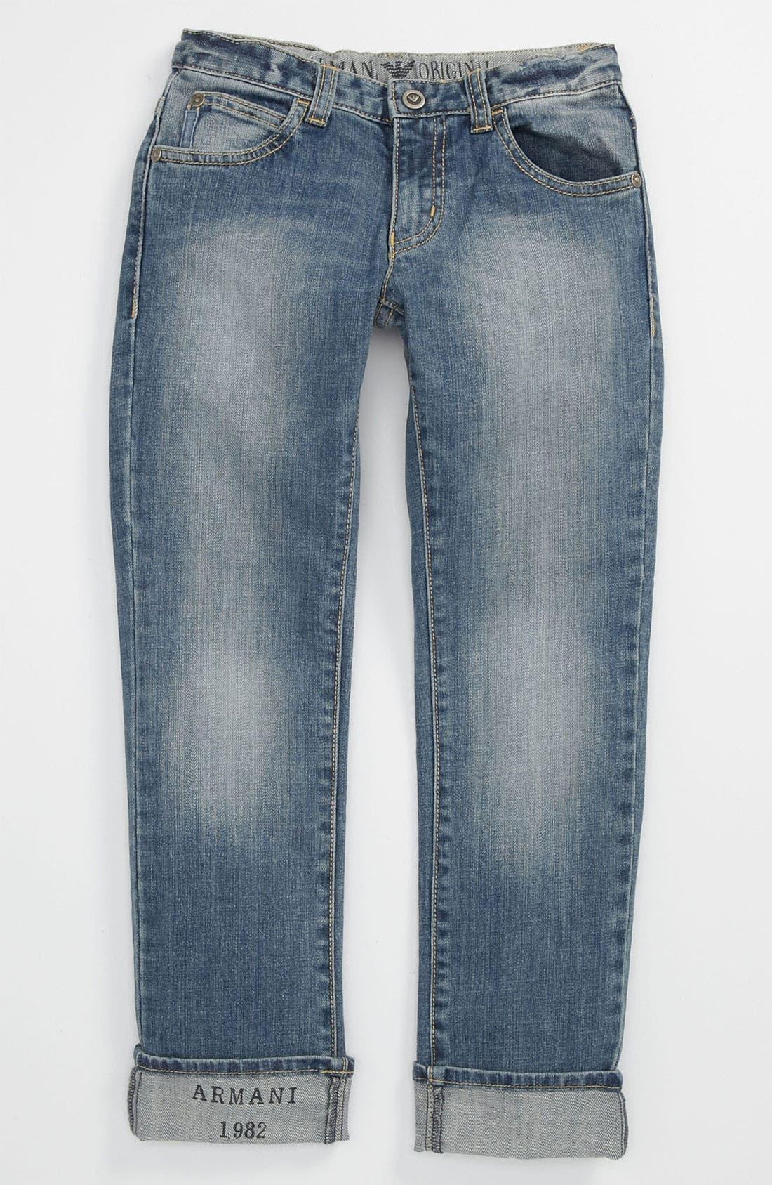 Alternate Image 1 Selected - Armani Junior Jeans (Little Boys)