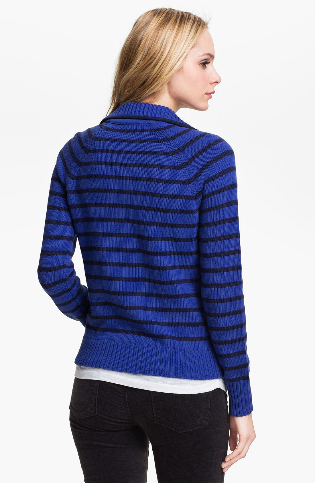 Alternate Image 2  - Caslon® Sweater Jacket