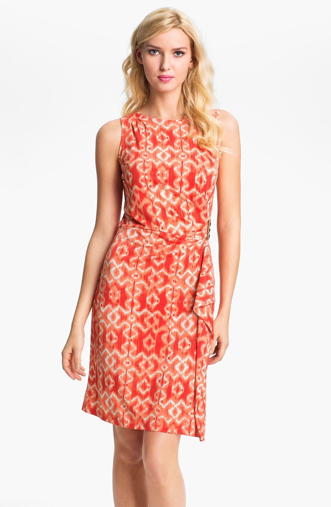 Alternate Image 1 Selected - MICHAEL Michael Kors Ikat Print Dress