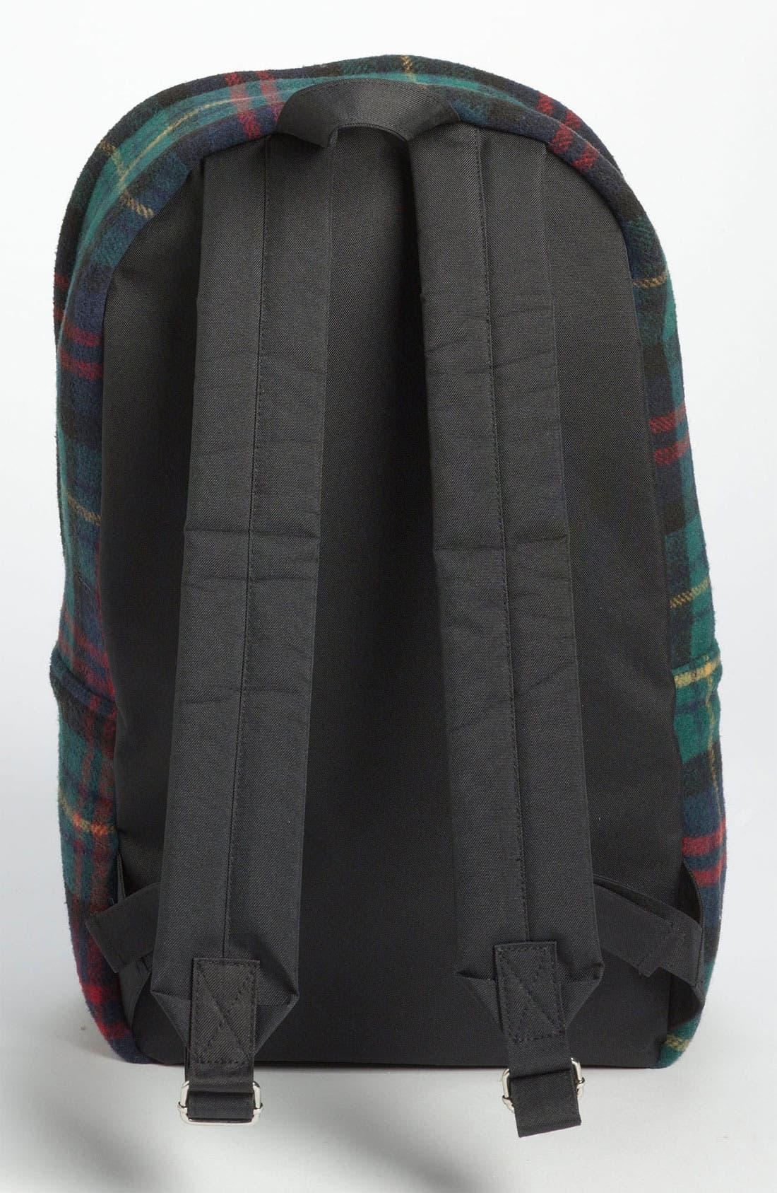 Alternate Image 2  - Topman Scottish Plaid Flannel Backpack