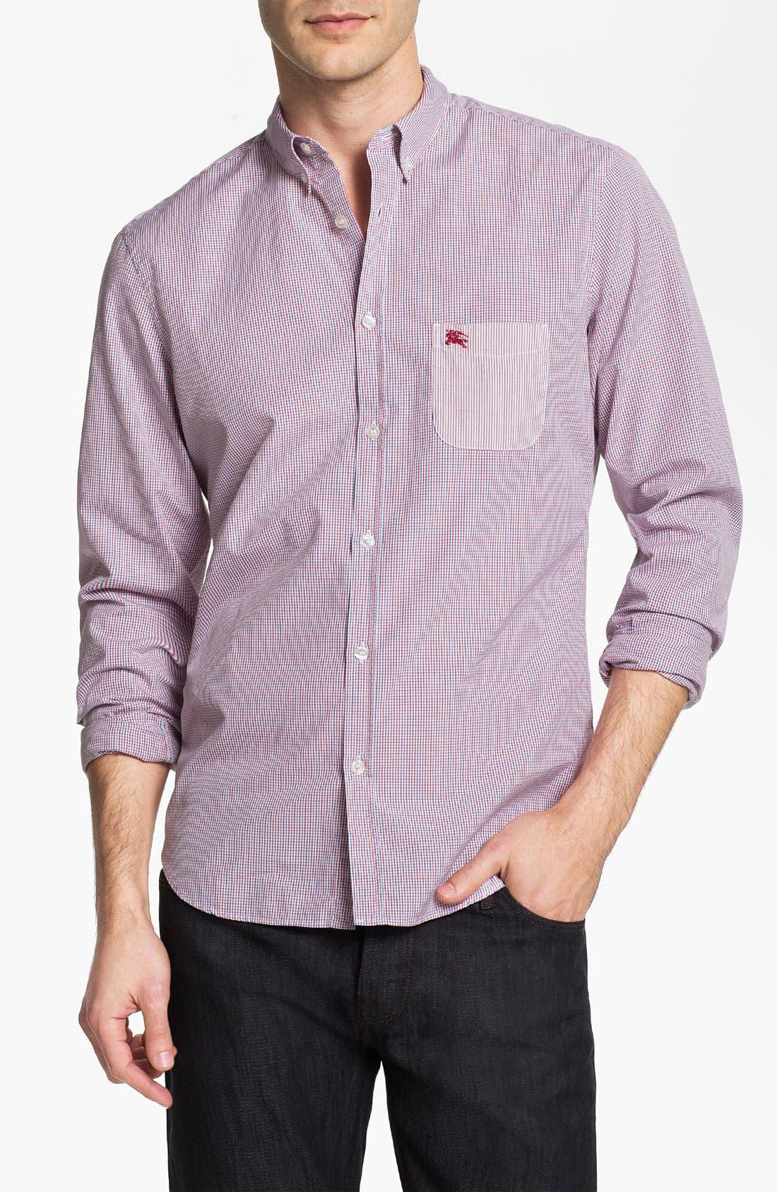 Main Image - Burberry Brit Tattersall Check Sport Shirt