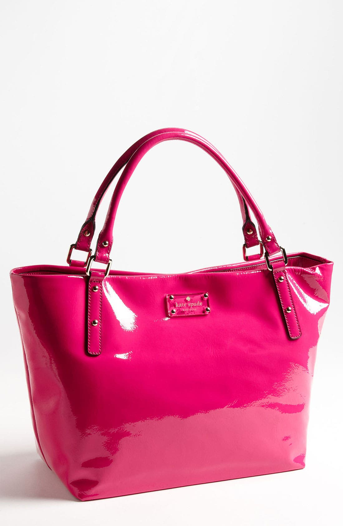 Alternate Image 1 Selected - kate spade new york 'flicker - sophie' crinkled patent shoulder bag