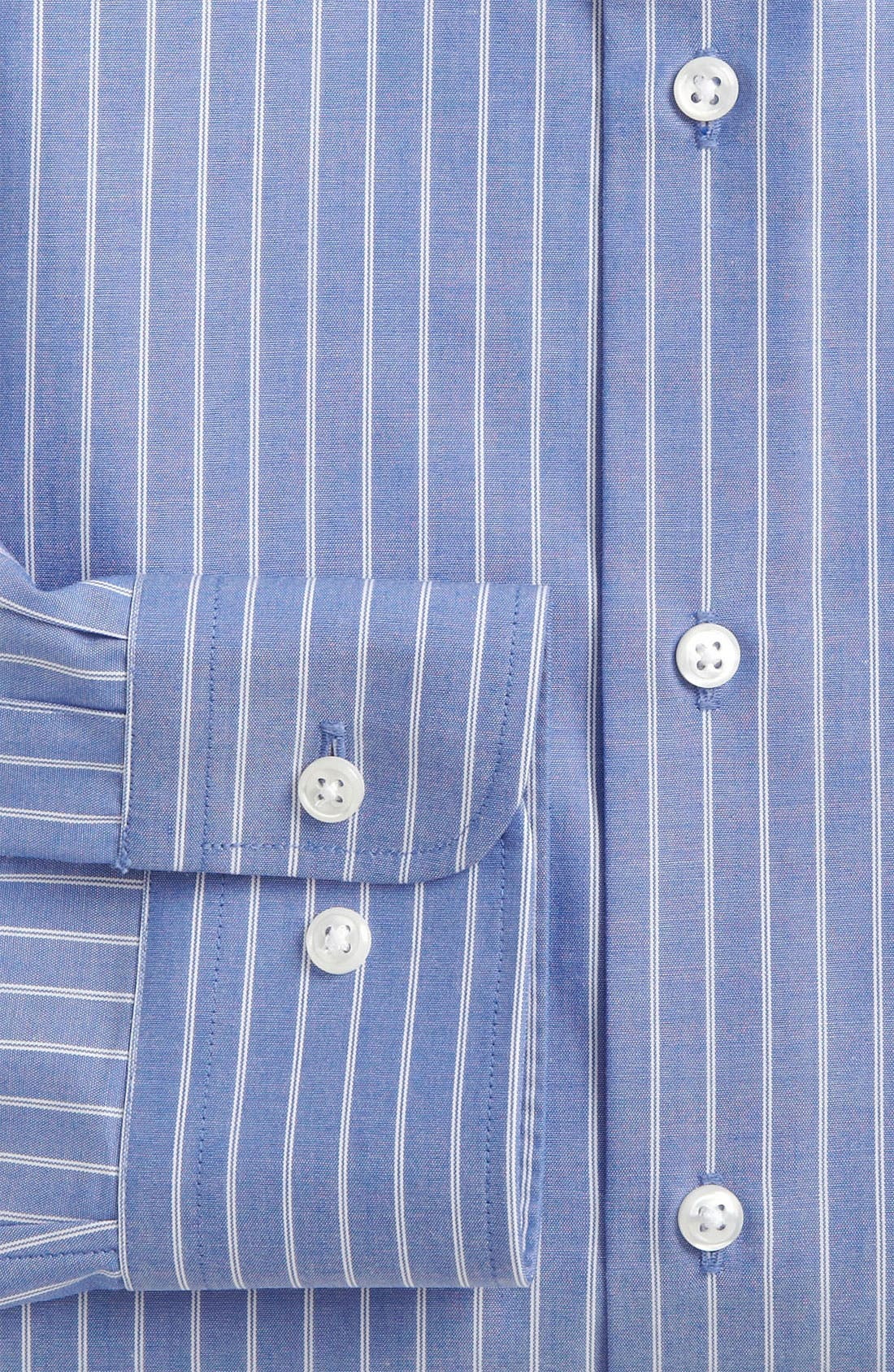Alternate Image 3  - Nordstrom Trim Fit Non-Iron Dress Shirt (Online Only)