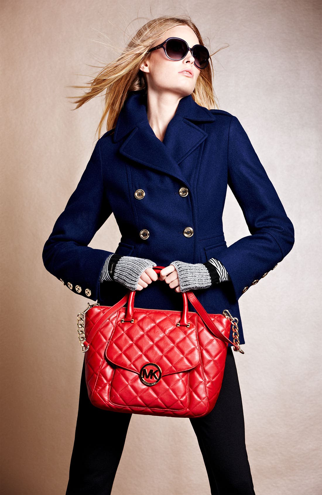Alternate Image 2  - MICHAEL Michael Kors 'Fulton - Large' Quilted Tote