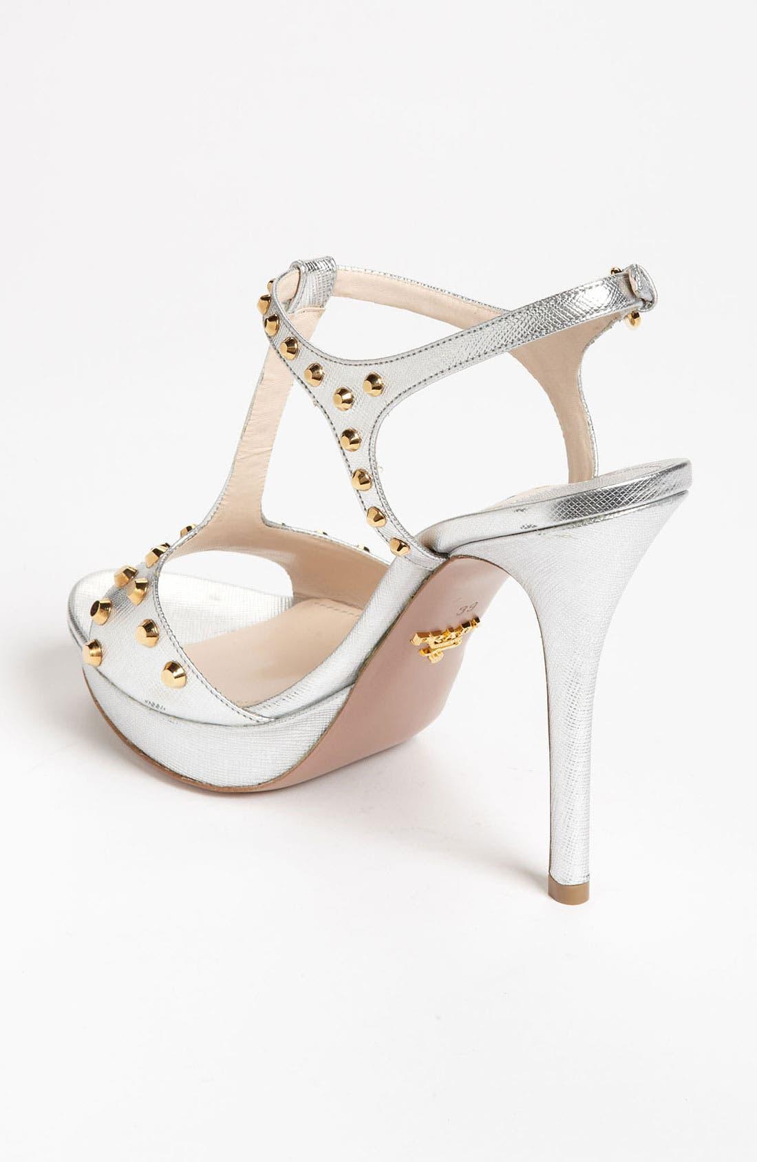 Alternate Image 2  - Prada Studded T-Strap Sandal