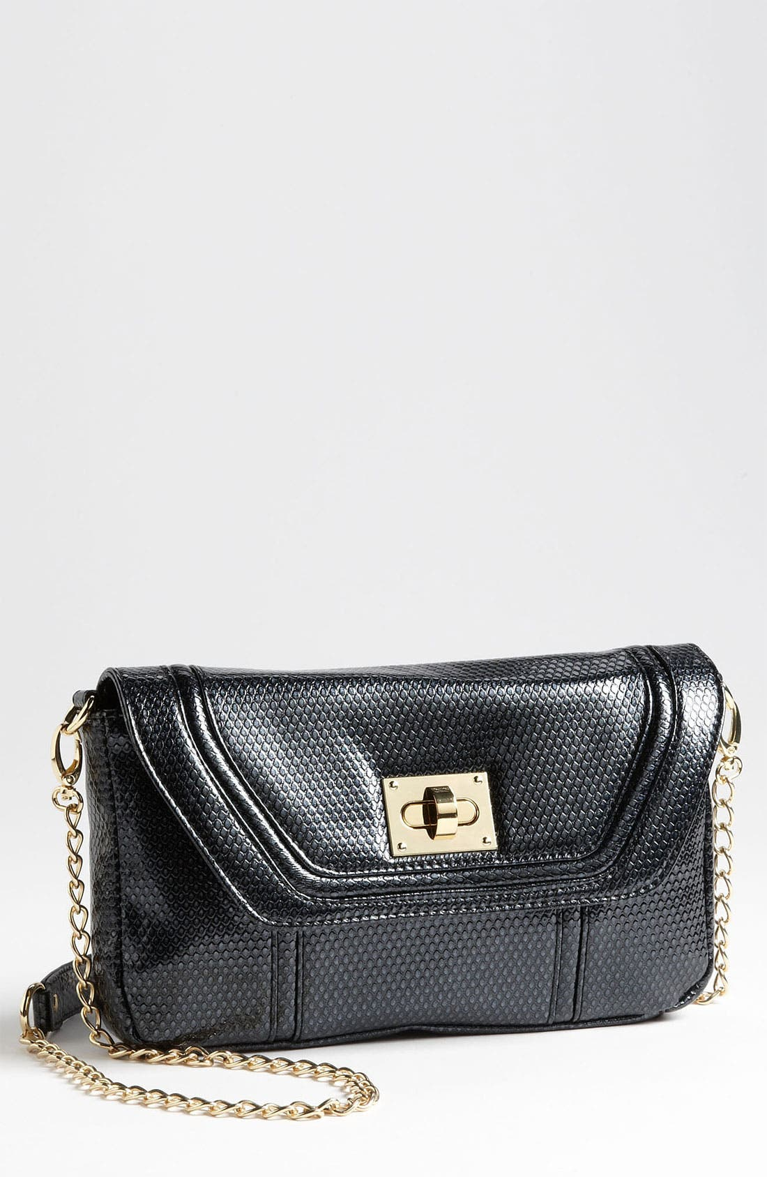 Main Image - Steven by Steve Madden 'Sugar' Snake Embossed Clutch