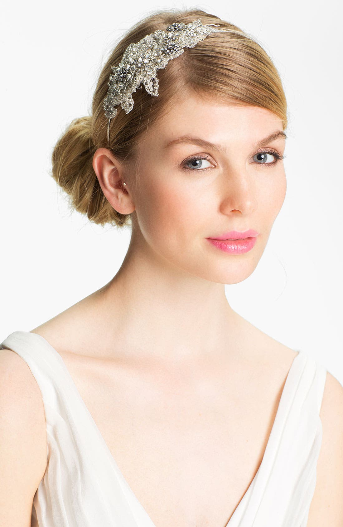 Main Image - Halo & Co 'Inez' Vintage Crystal Headband