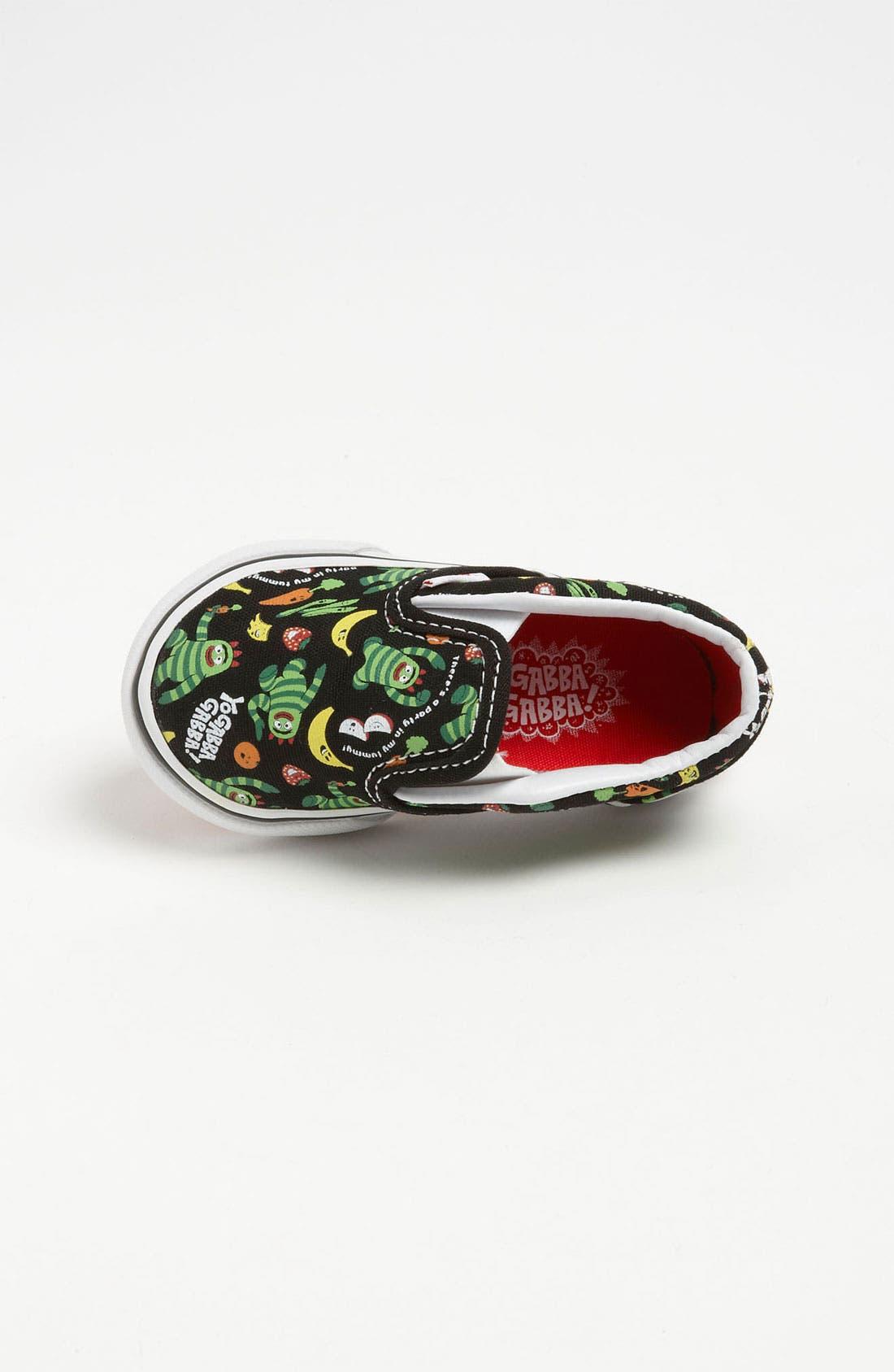 Alternate Image 3  - Vans 'Classic - Yo Gabba Gabba!™' Slip-On Sneaker (Baby, Walker & Toddler)