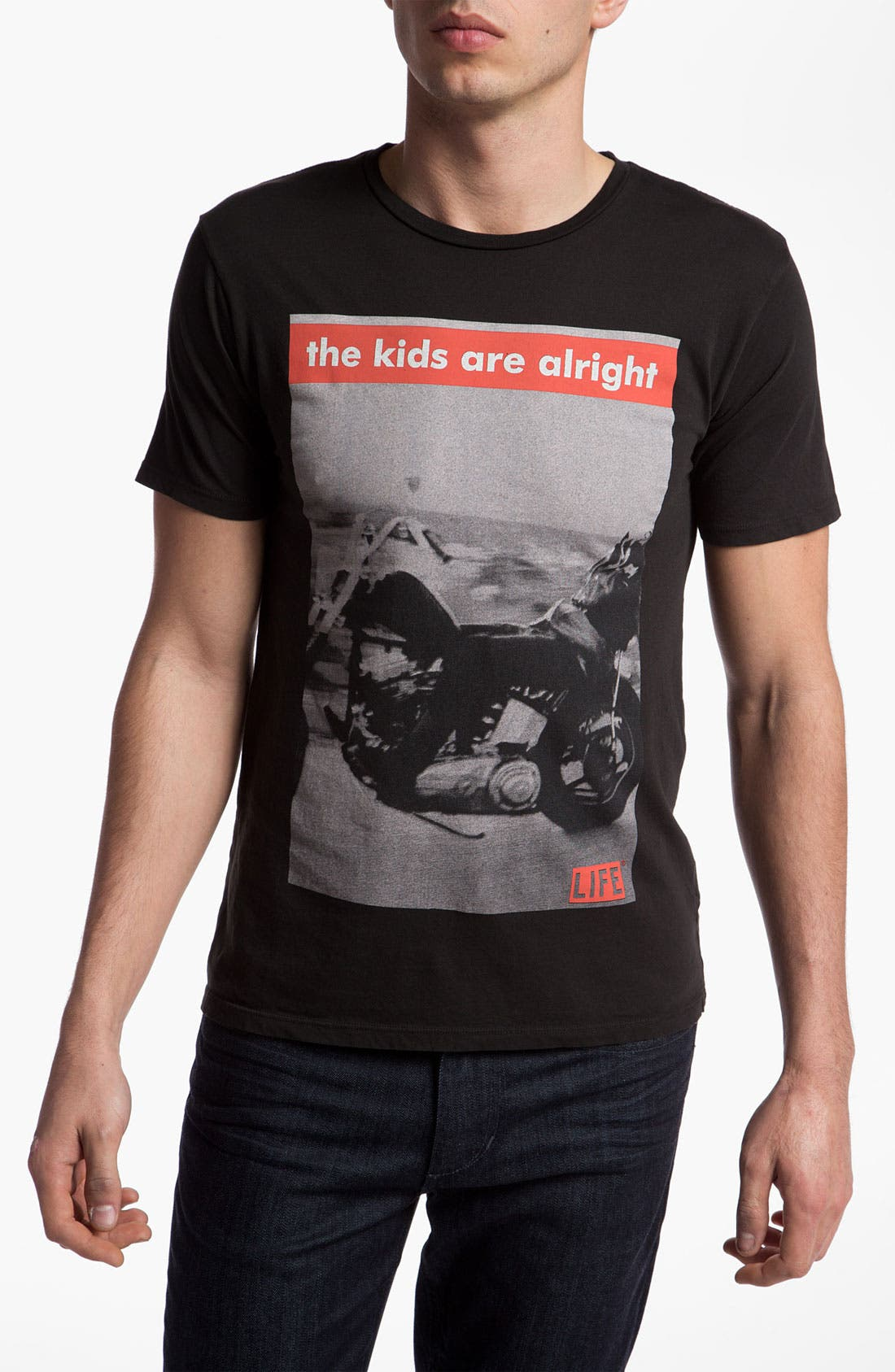 Alternate Image 1 Selected - Altru 'Kids Are Alright' Graphic T-Shirt
