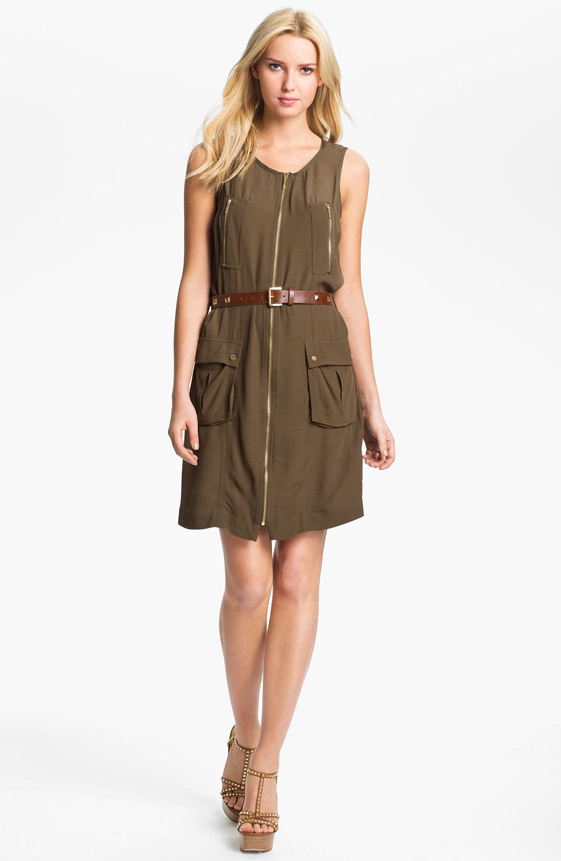 Alternate Image 1 Selected - MICHAEL Michael Kors Cargo Dress