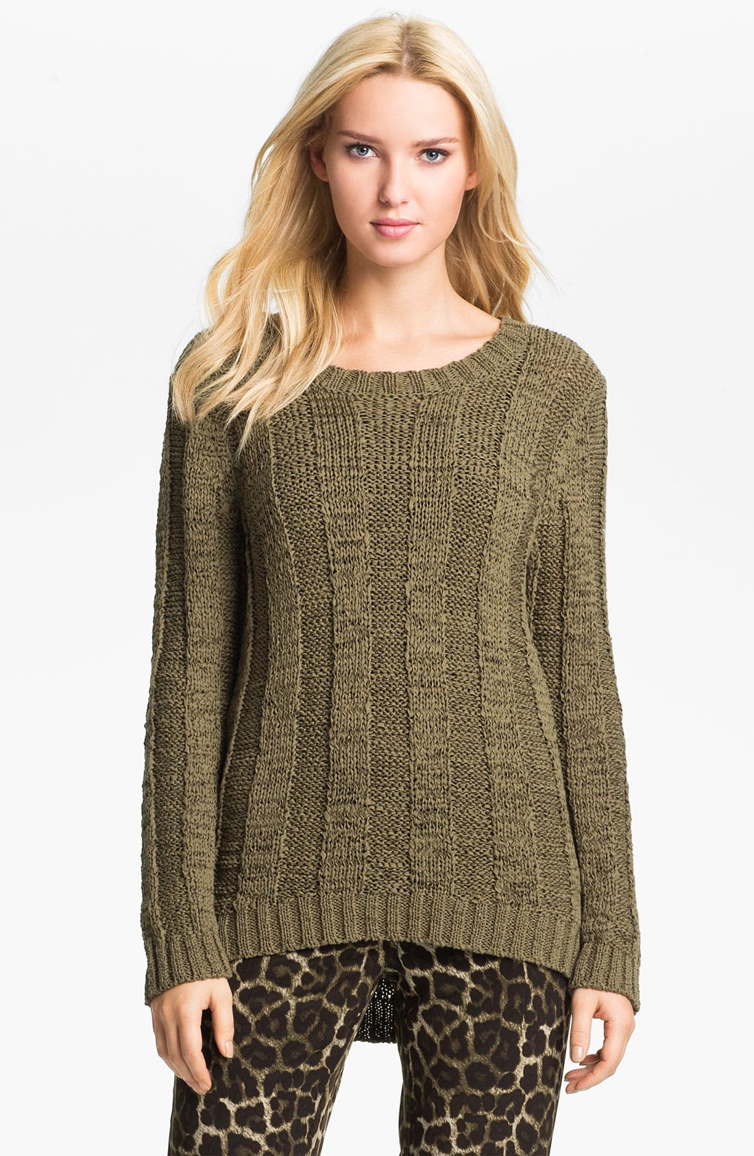 Alternate Image 1 Selected - MICHAEL Michael Kors Tape Yarn Pullover Sweater