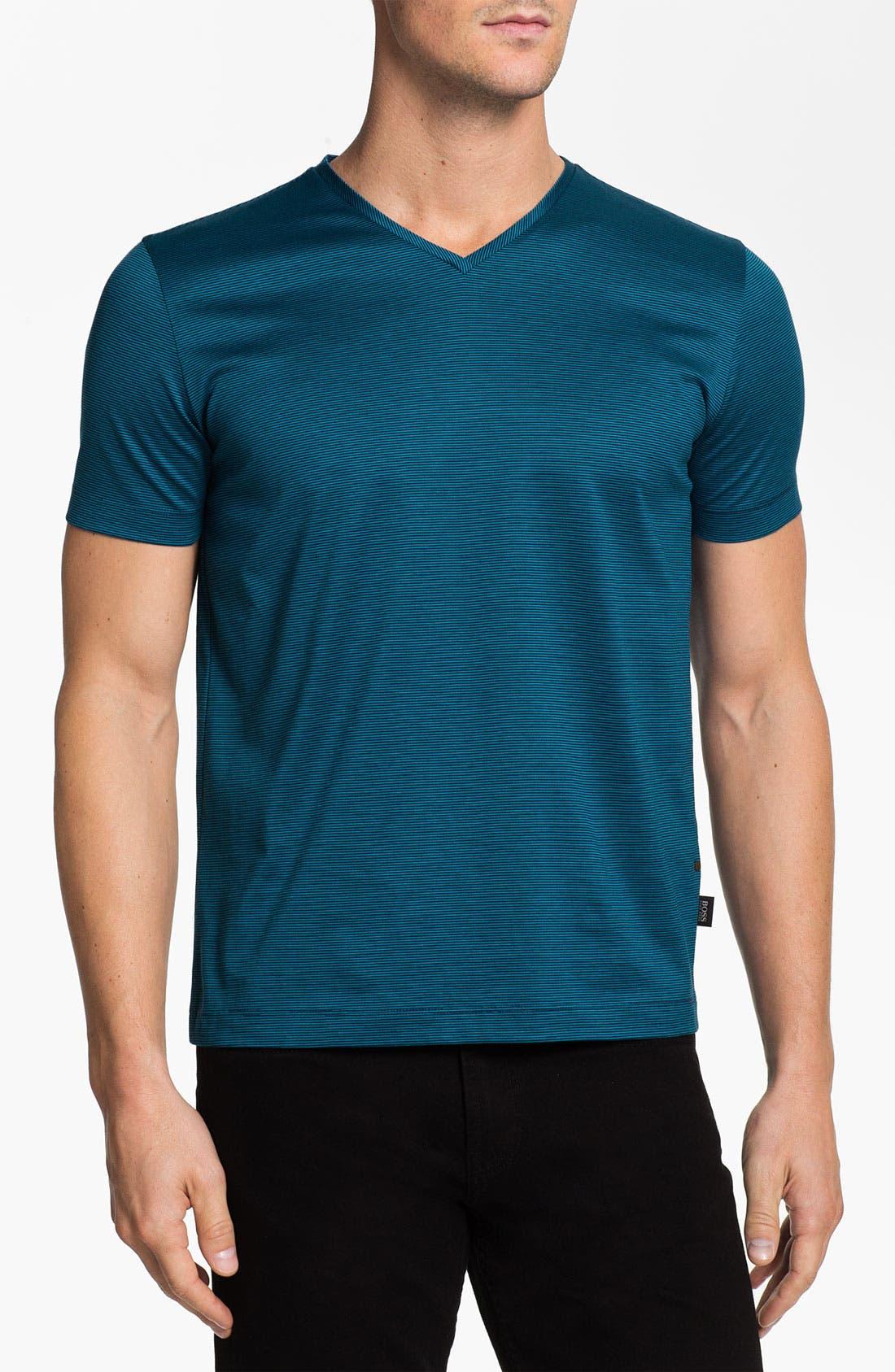 Alternate Image 1 Selected - BOSS HUGO BOSS 'Eraldo' V-Neck T-Shirt