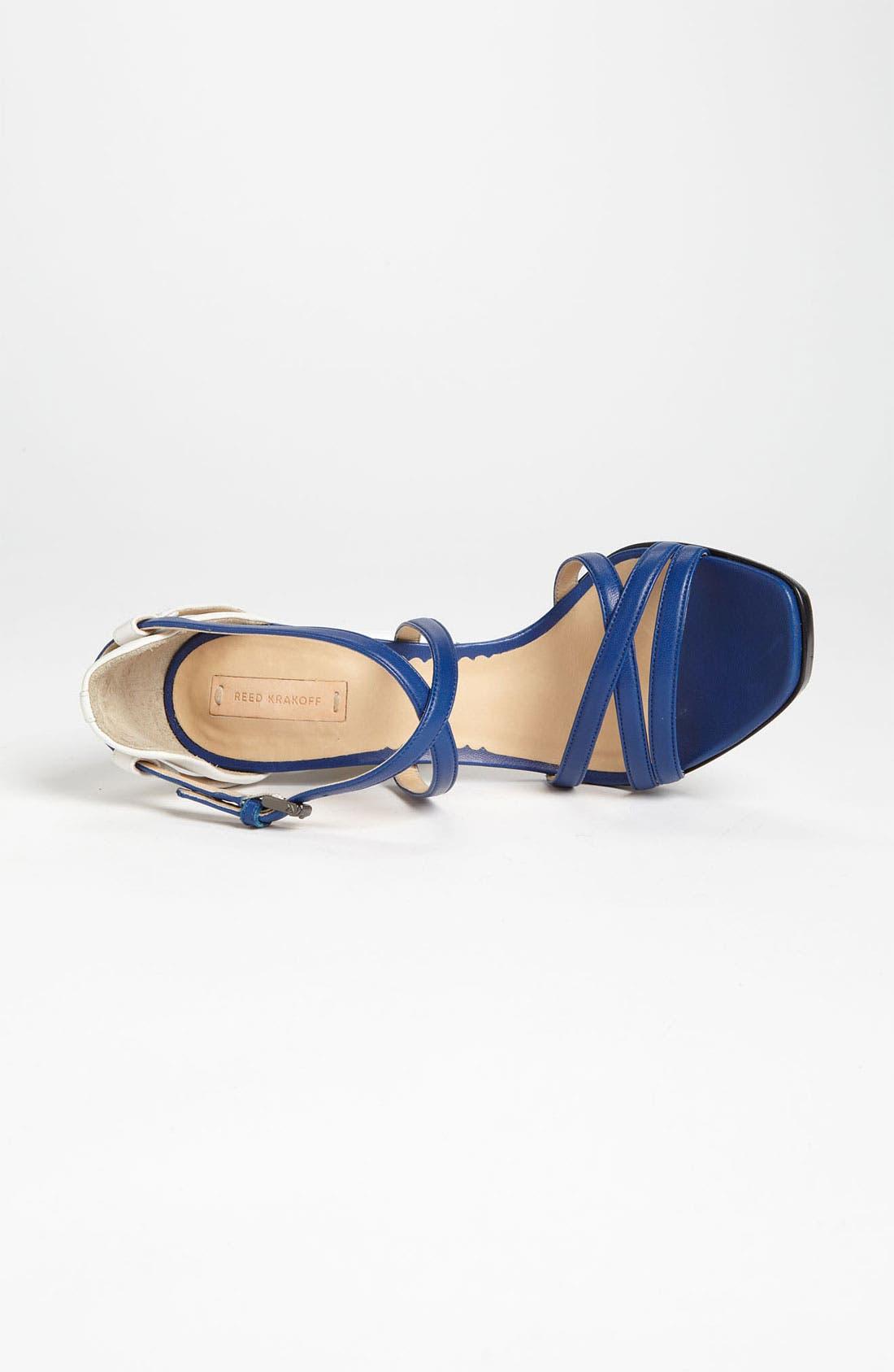 Alternate Image 3  - Reed Krakoff Cutout Heel Sandal