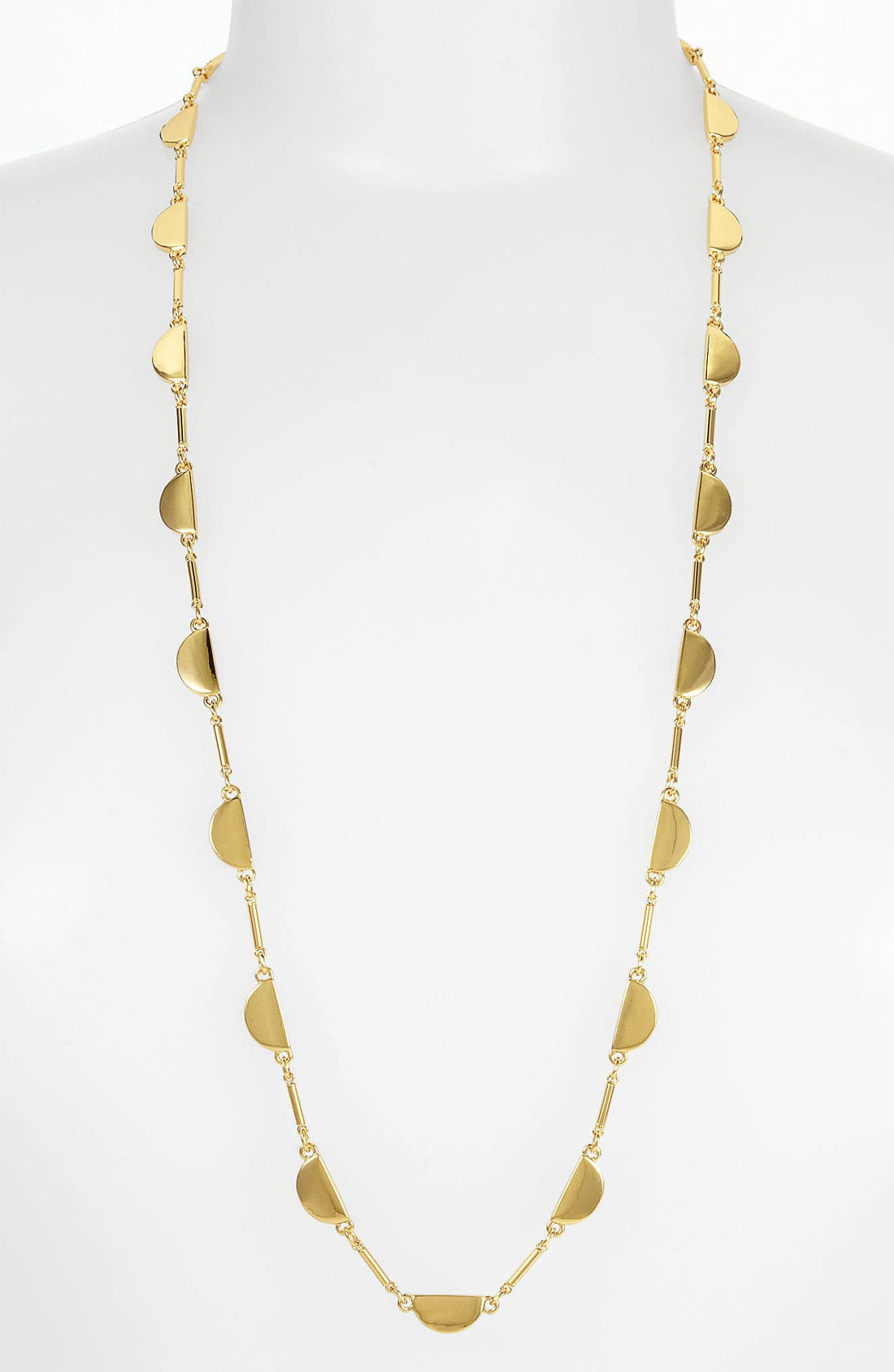 Alternate Image 1 Selected - kate spade new york 'scallop' station necklace