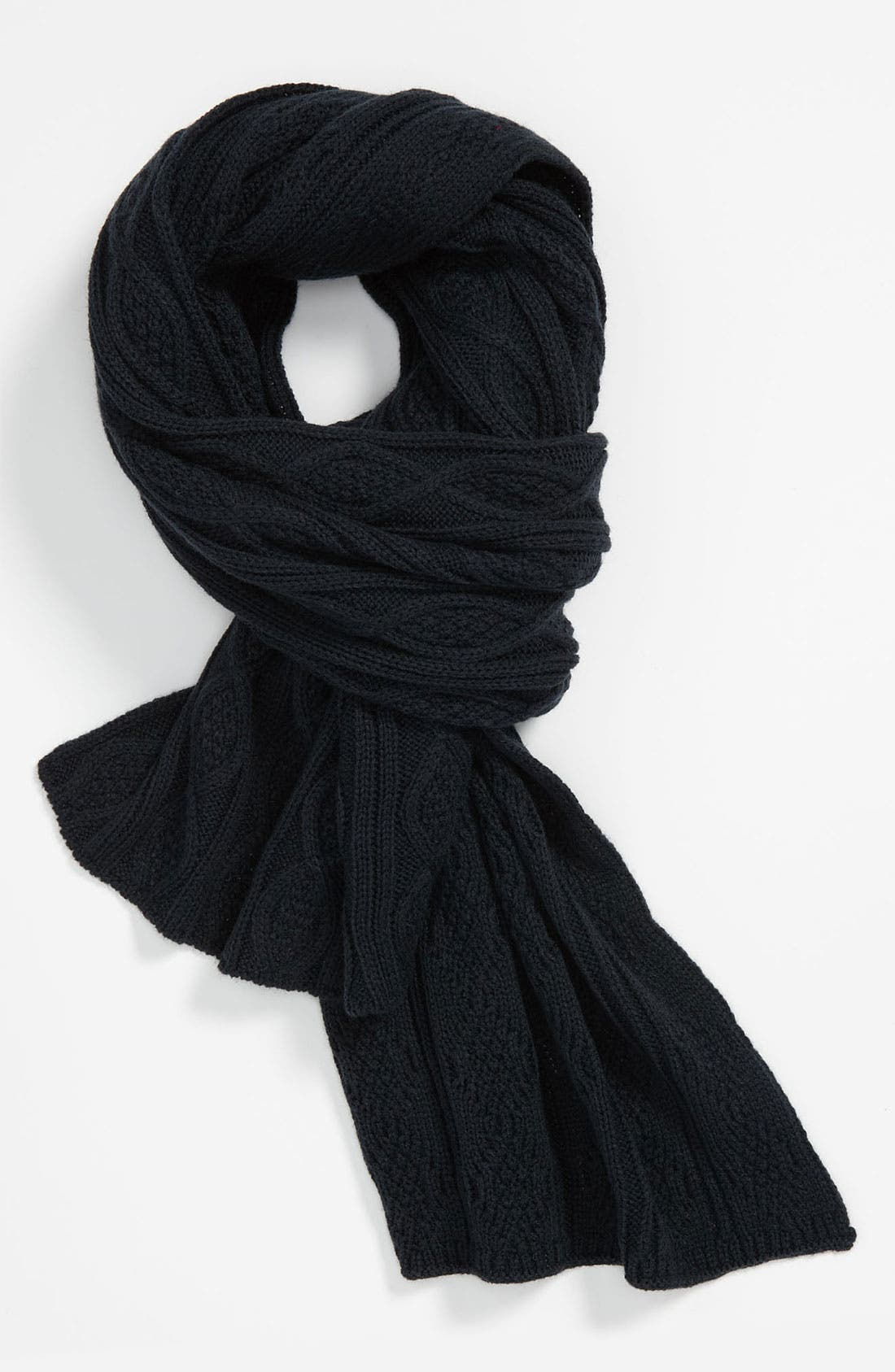 Alternate Image 1 Selected - DIESEL® 'Sdetty' Cable Knit Scarf