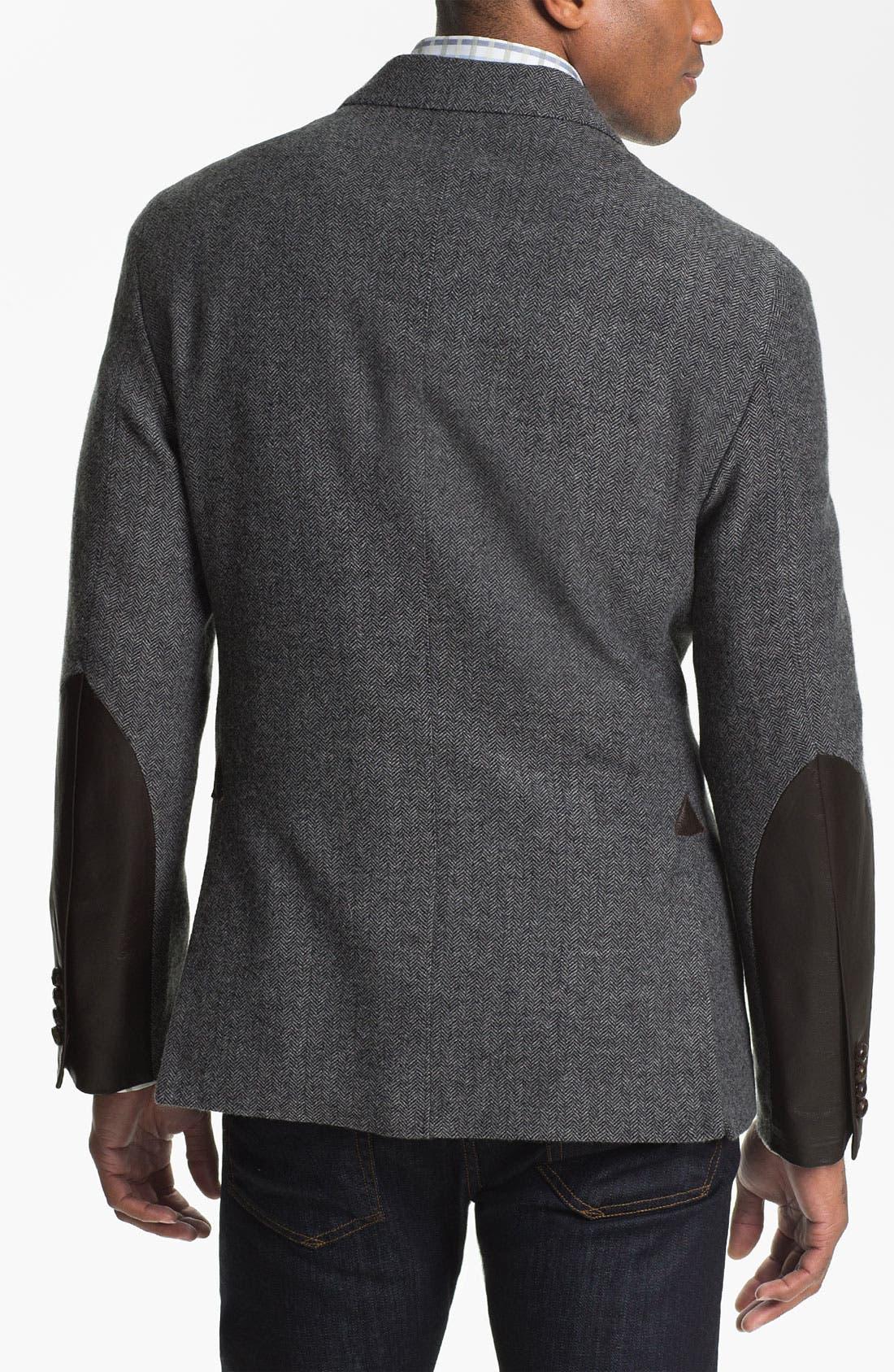 Alternate Image 2  - Façonnable Wool Blend Sportcoat