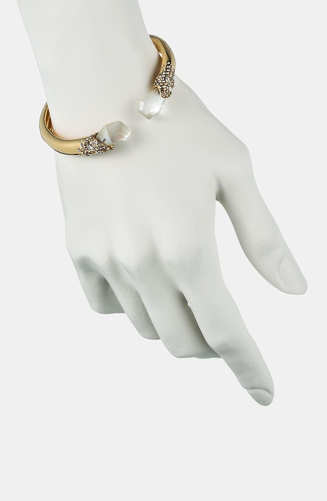 Alternate Image 3  - Alexis Bittar 'Miss Havisham - Bel Air' Stone Cap Cuff Bracelet