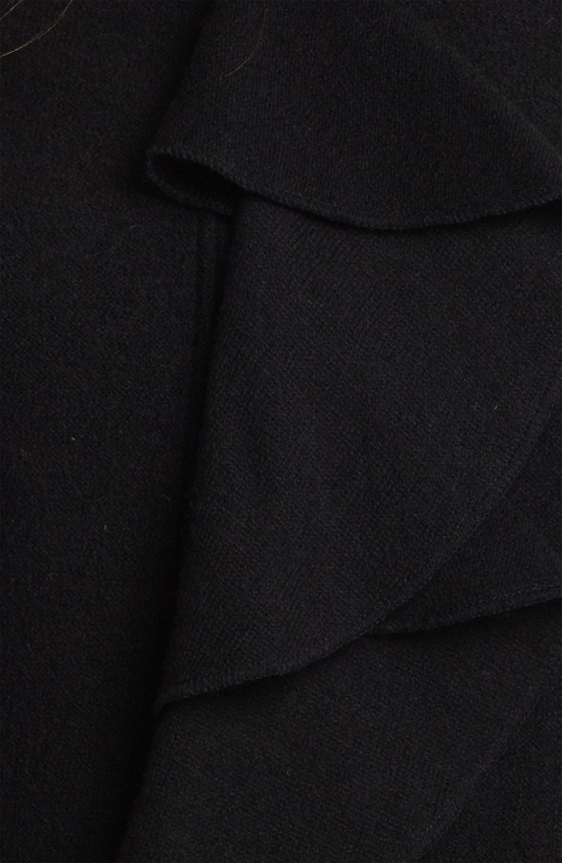 Alternate Image 3  - Beatrix Ost Ruffled Zip Front Jacket (Online Exclusive)