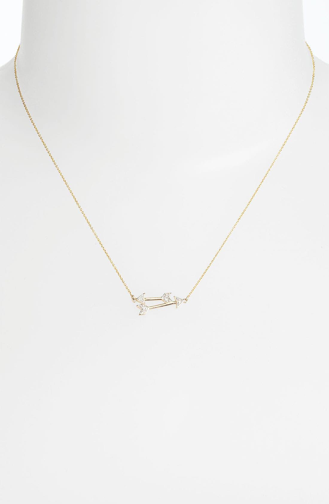 Alternate Image 2  - Whitney Stern Double Arrow Pendant Necklace