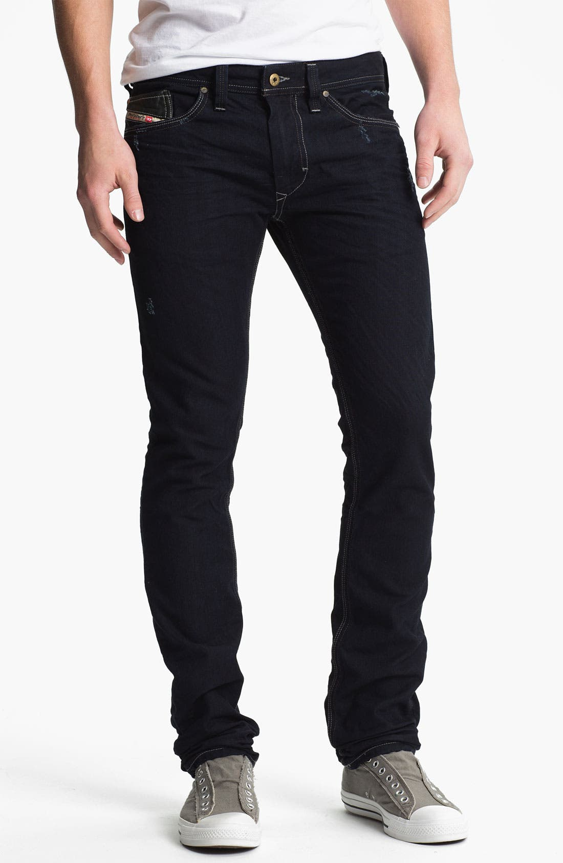 Alternate Image 2  - DIESEL® 'Thanaz' Slim Skinny Leg Jeans (0601K)