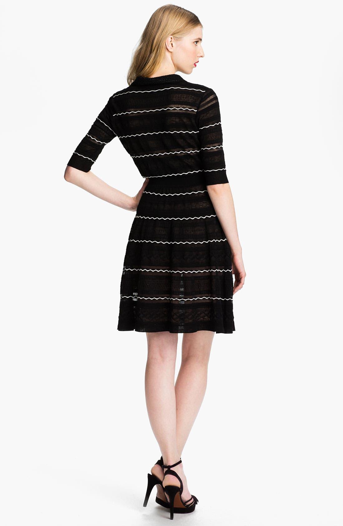 Alternate Image 2  - M Missoni Henley Dress