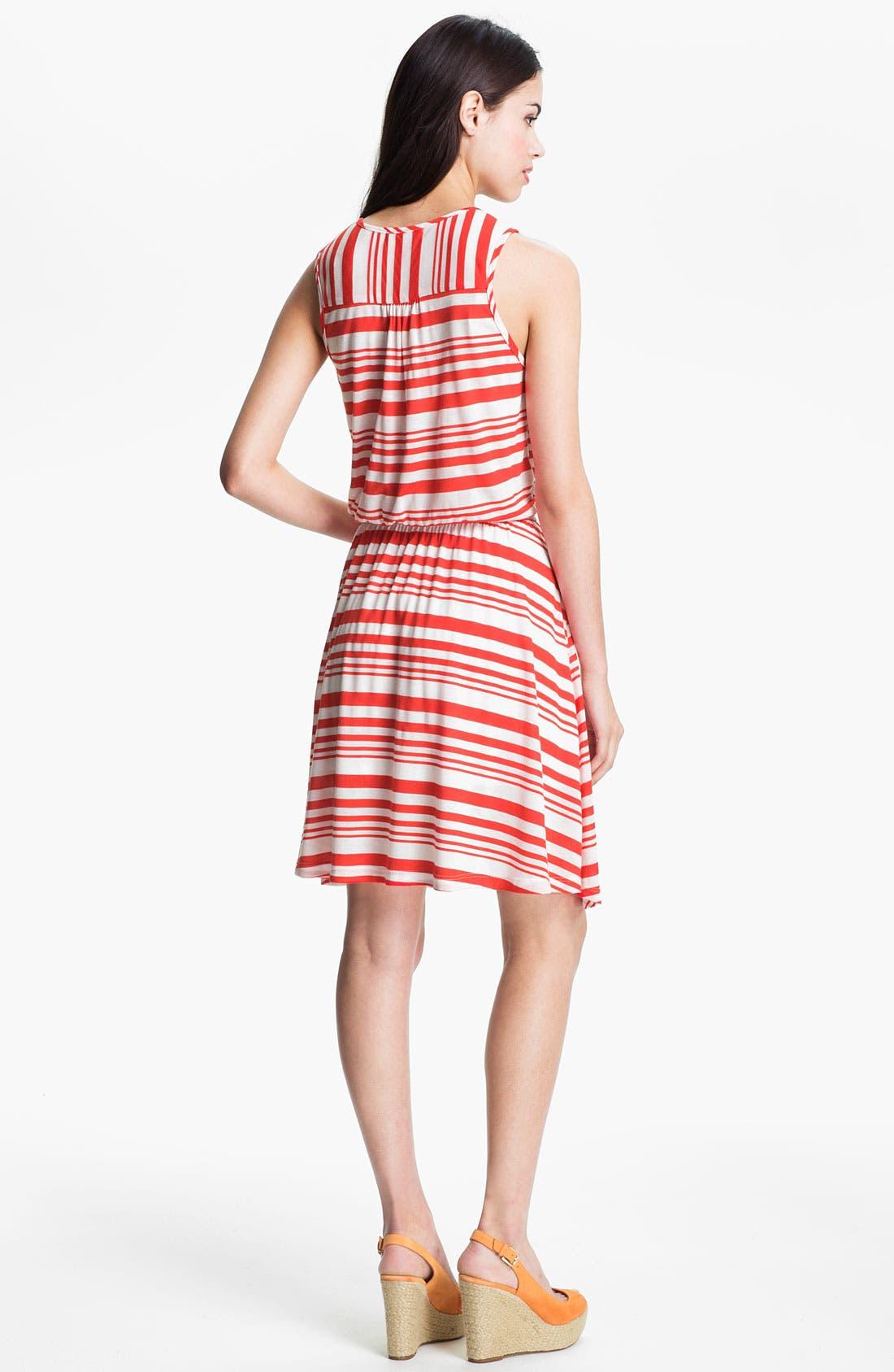 Alternate Image 2  - Pleione Split Neck Sleeveless Dress
