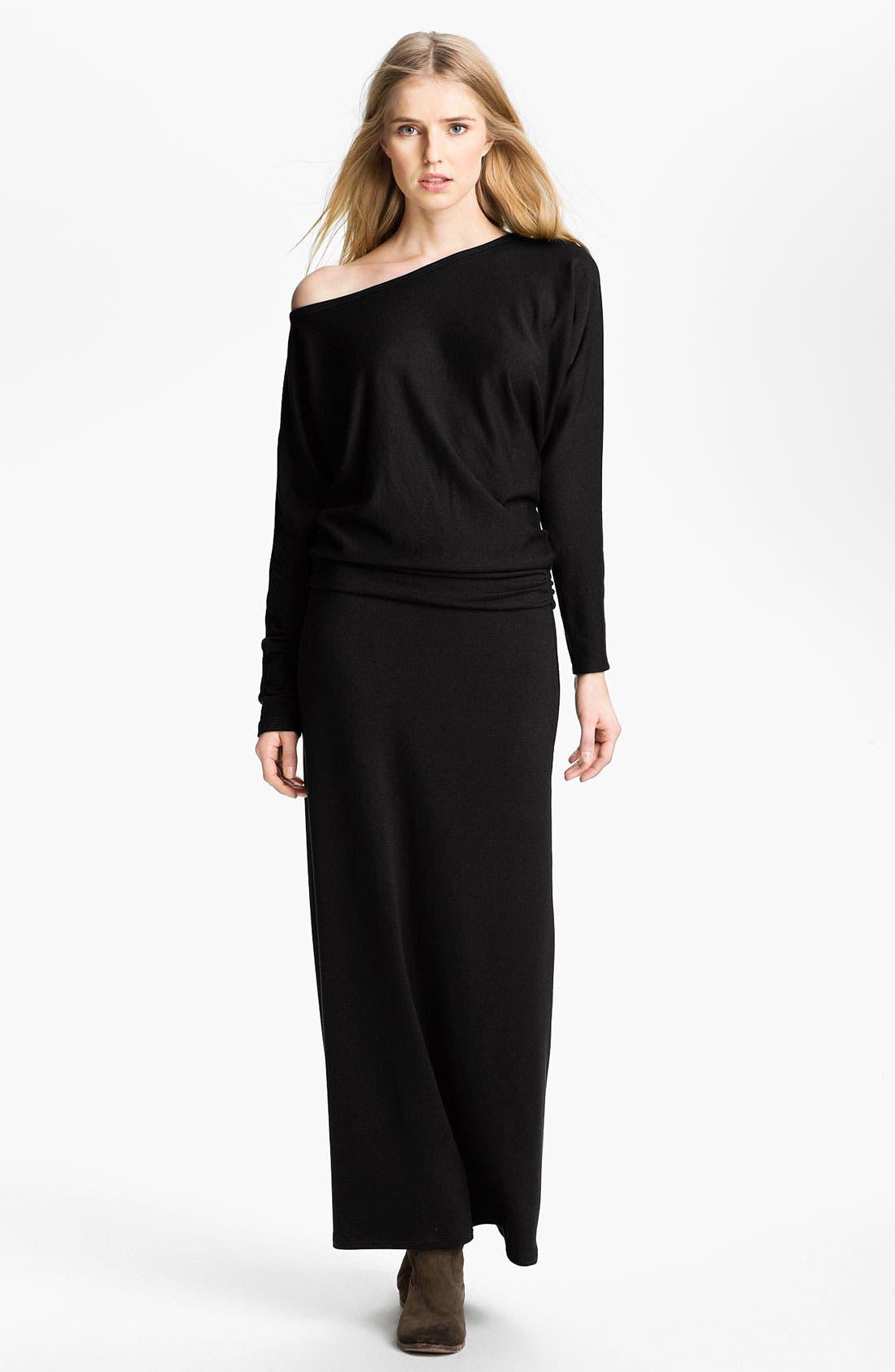 Alternate Image 1 Selected - Tart 'Yvonne' Off the Shoulder Sweater Maxi Dress