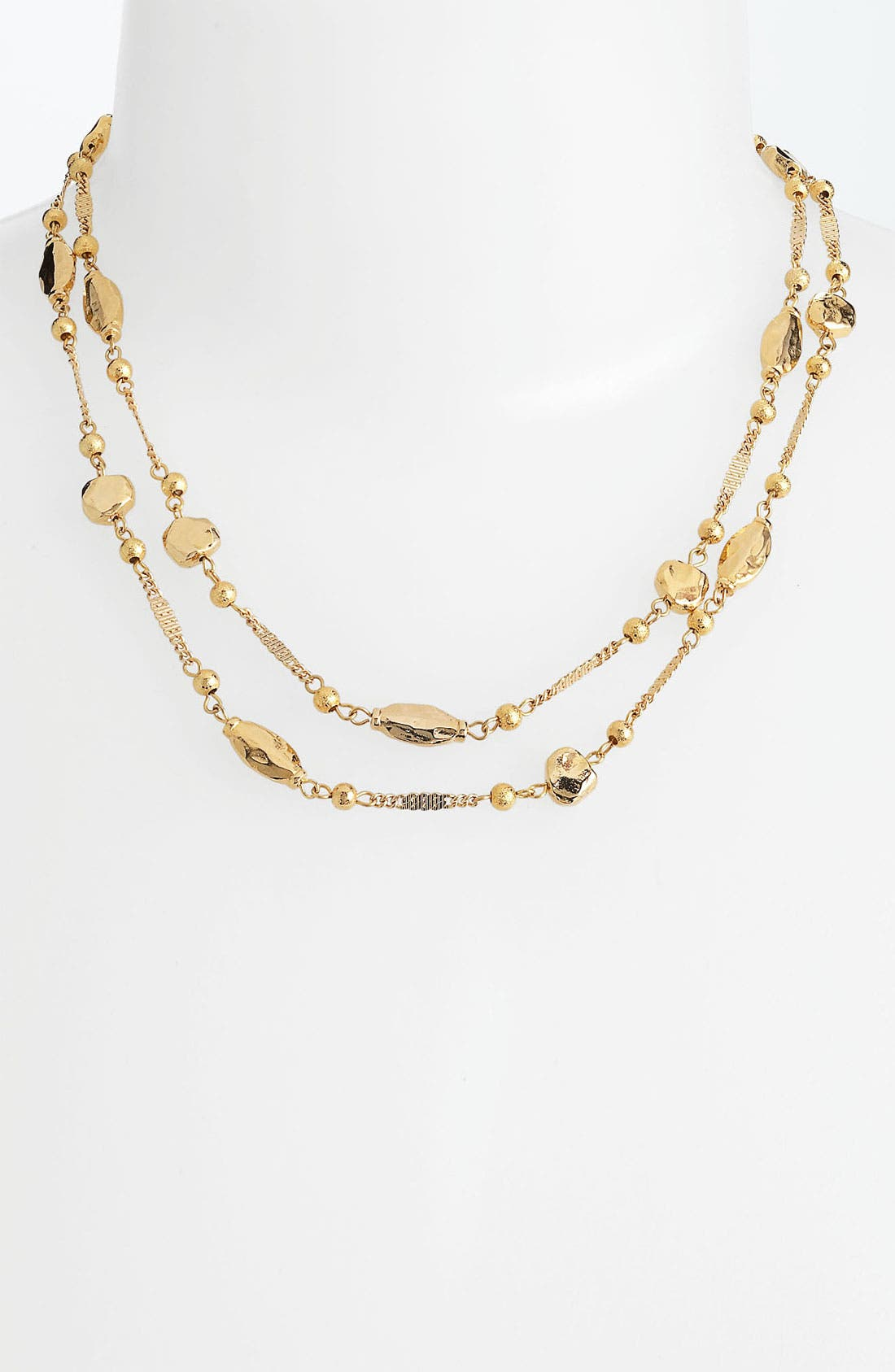 Alternate Image 2  - Nordstrom 'Sand Dollar' Long Station Necklace