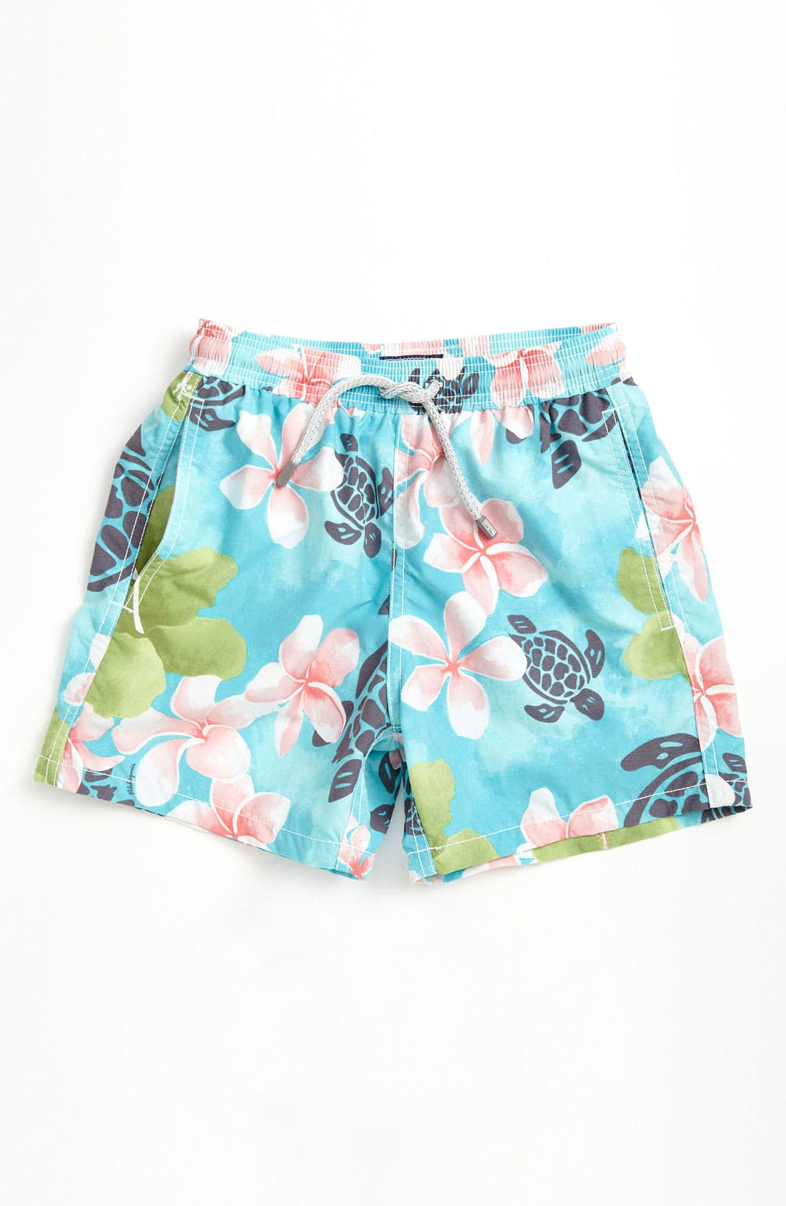 Main Image - Vilebrequin 'Jim/Jam' Print Swim Trunks (Little Boys & Big Boys)