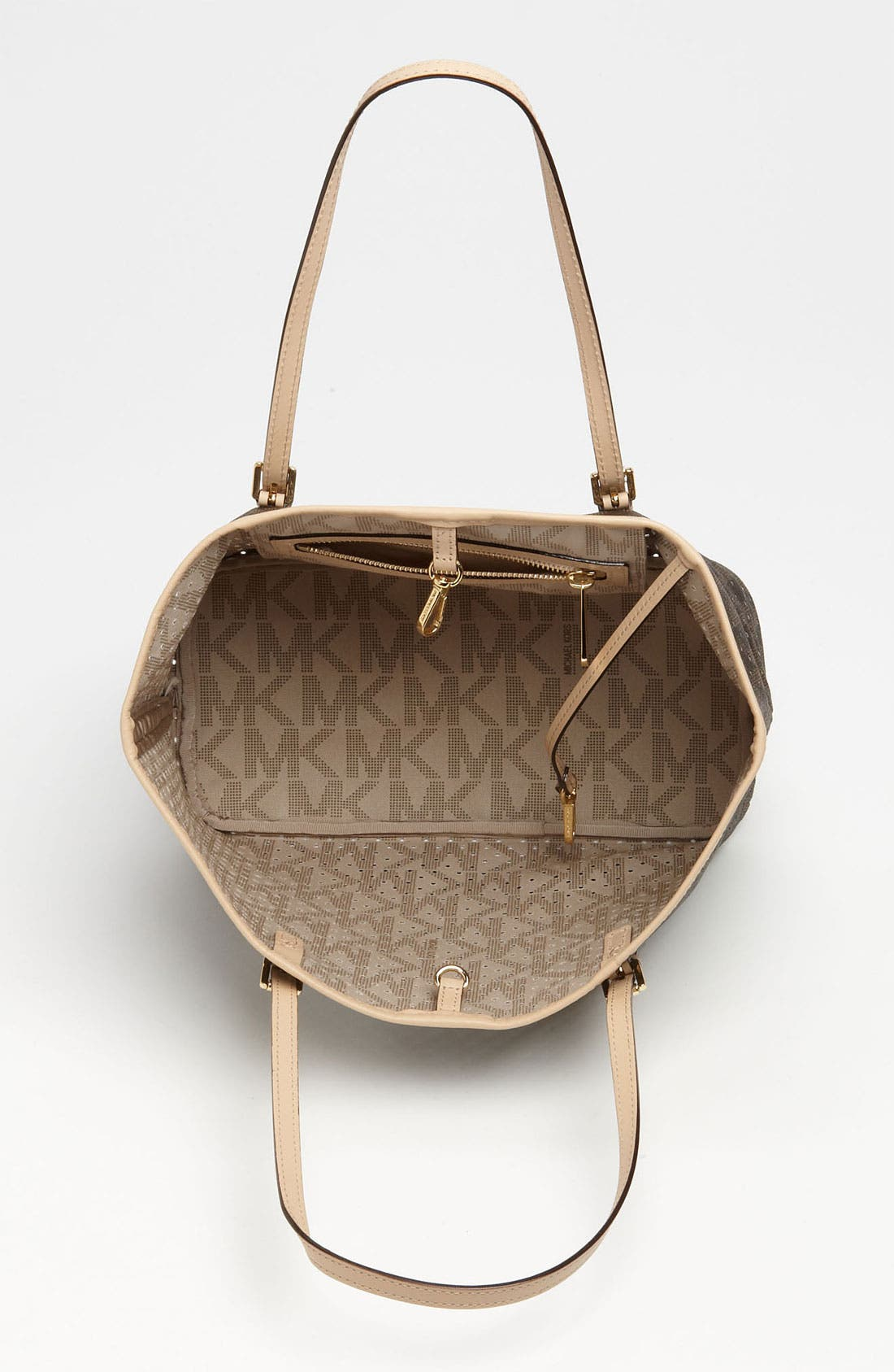 Alternate Image 3  - MICHAEL Michael Kors 'Signature - Small' Perforated Tote