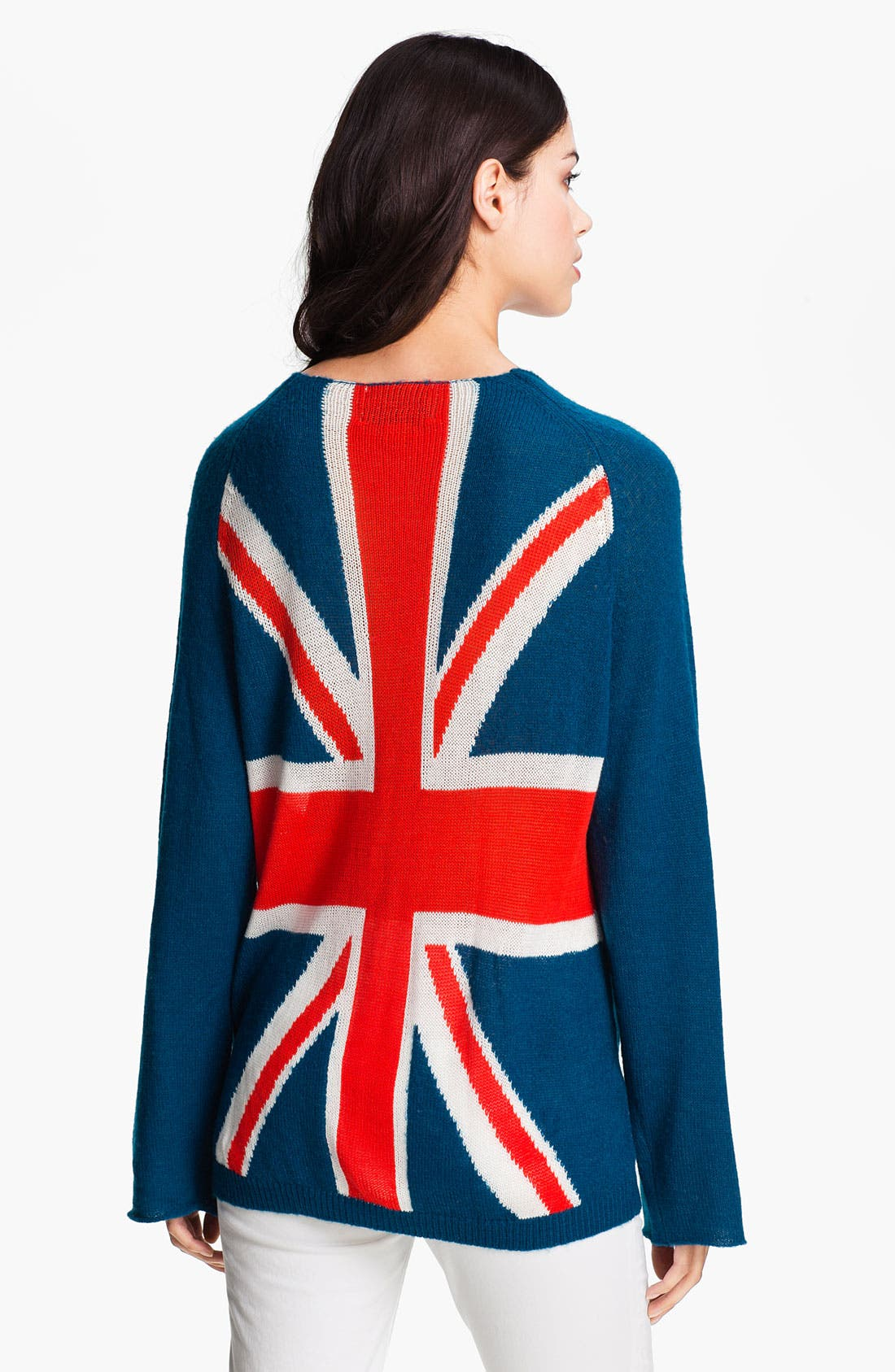 Alternate Image 2  - Wildfox 'Save The Queen' Union Jack Sweater