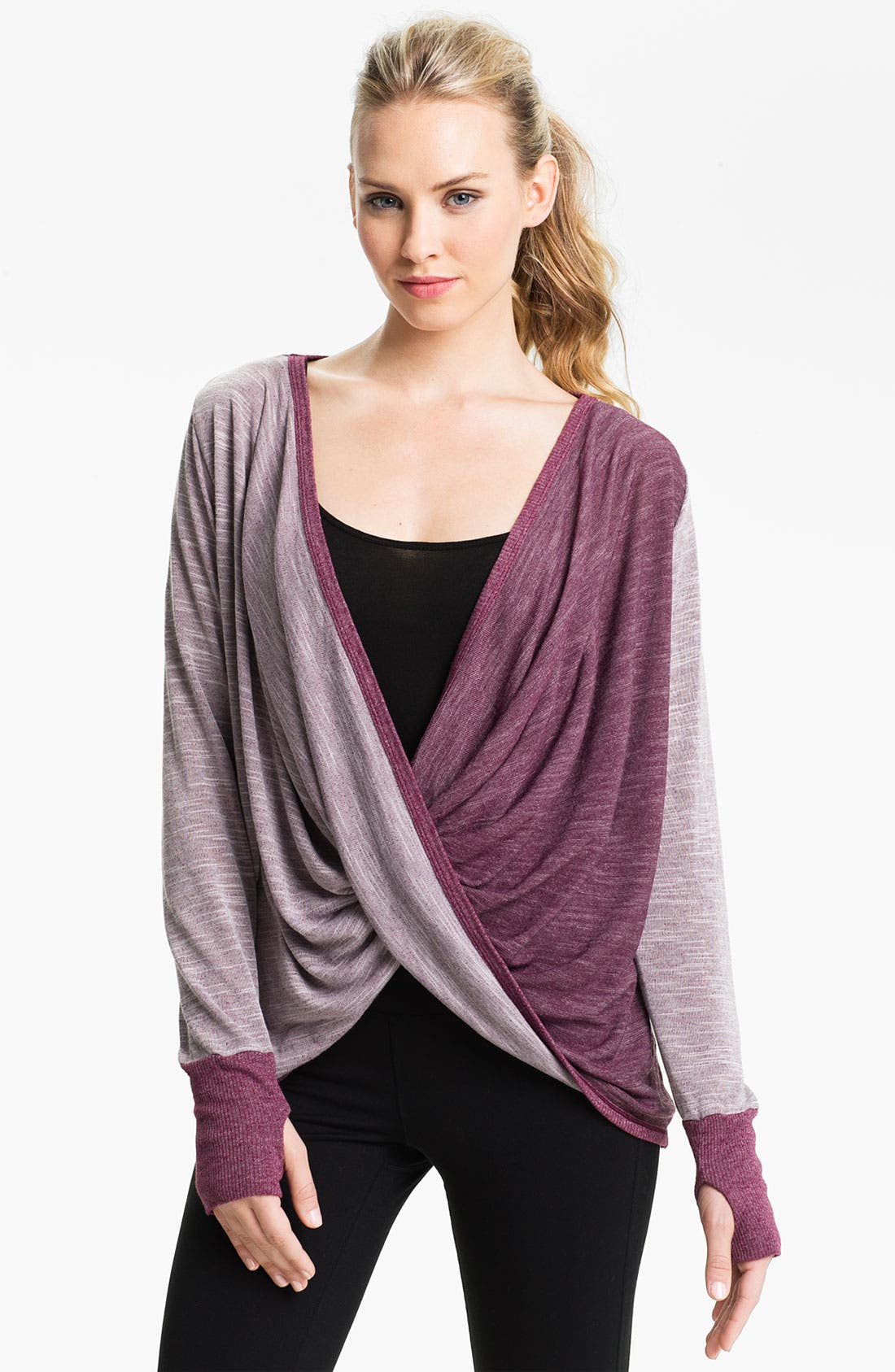 Alternate Image 1 Selected - Pure Karma 'Dinah' Twist Pullover Top