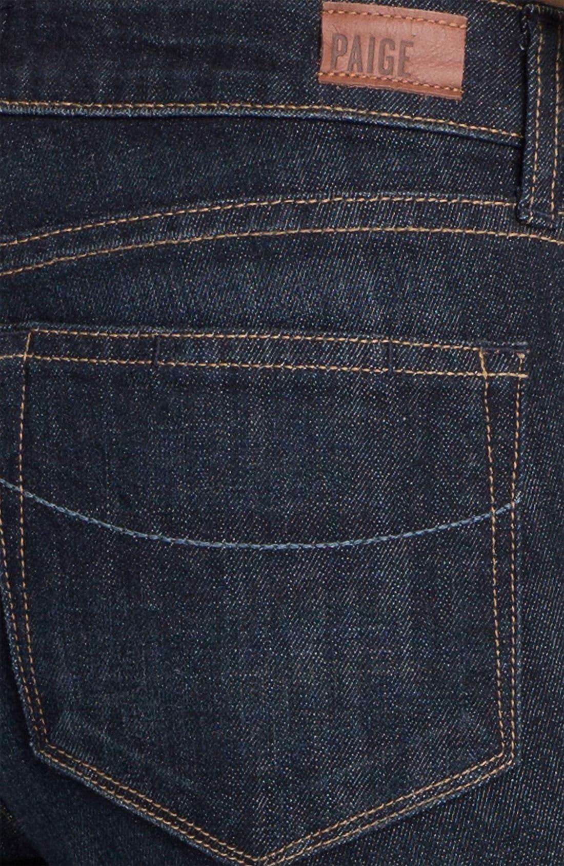 Alternate Image 3  - Paige Denim 'Jax' Stretch Denim Bermuda Shorts (Dean Wash)