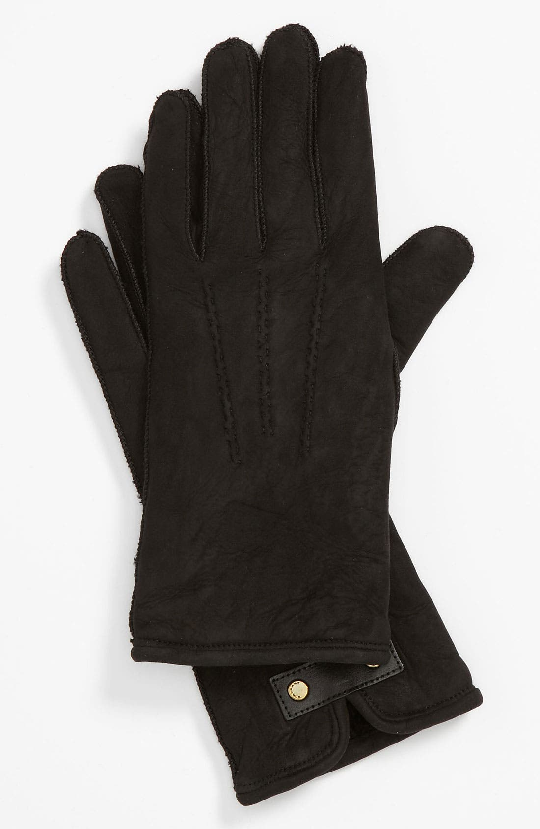 Main Image - Burberry 'Luca' Shearling Gloves