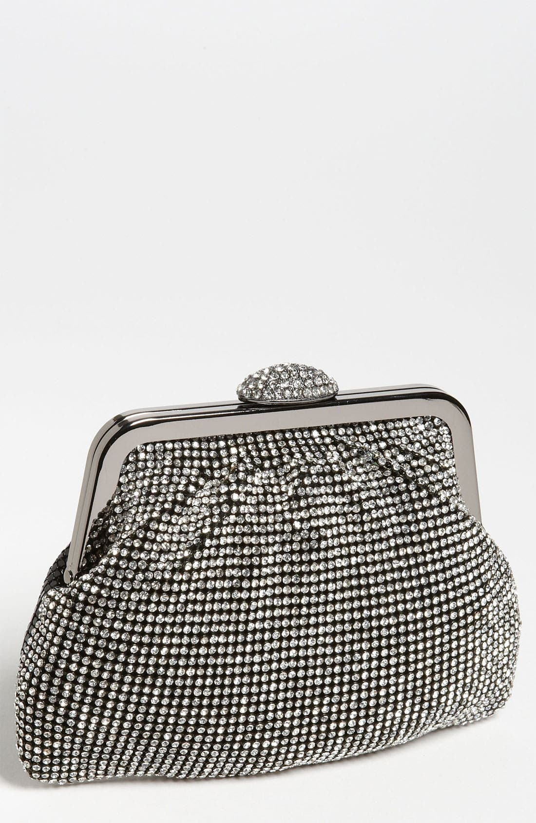 Main Image - Natasha Couture Mesh & Sequin Pouch