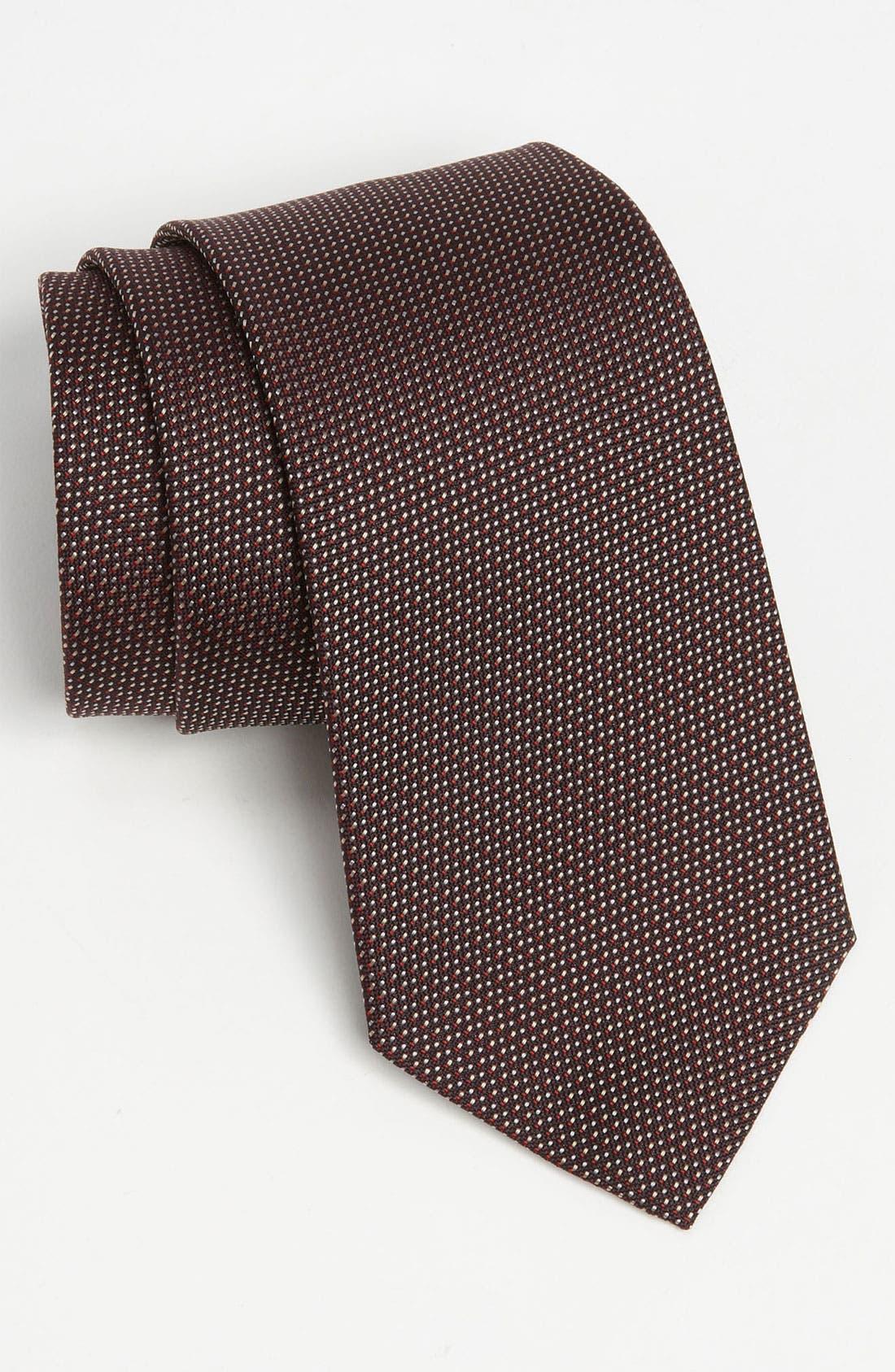 Alternate Image 1 Selected - Z Zegna Woven Silk Tie
